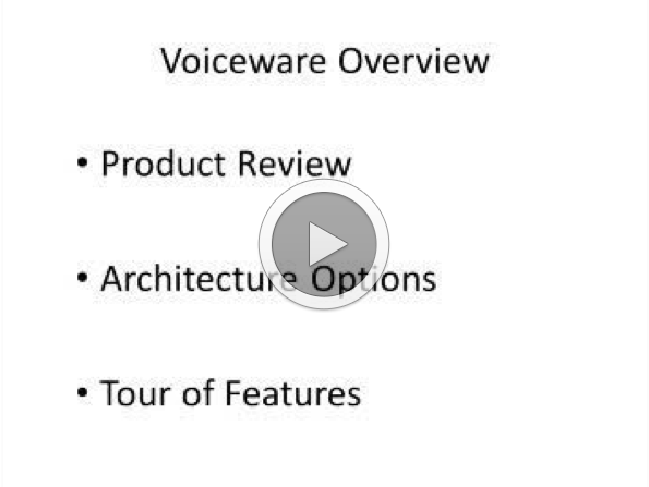 A Short, Guided Tour of Voiceware