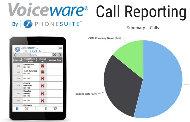 Voiceware-Call Reporting