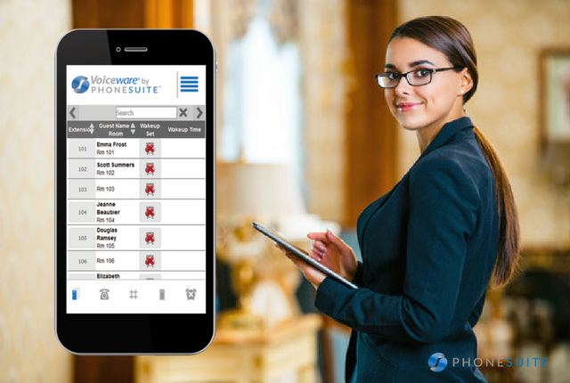 Phonesuite Optimizes Safety and Efficiency for Hotels with Enhanced Voiceware 2.2 Software Release